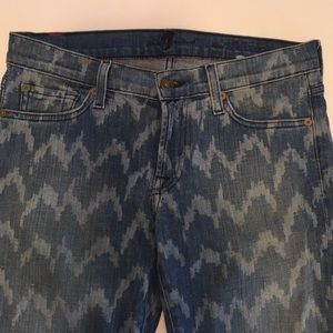 """7 For All Mankind """"the skinny"""" jeans . Gently used"""